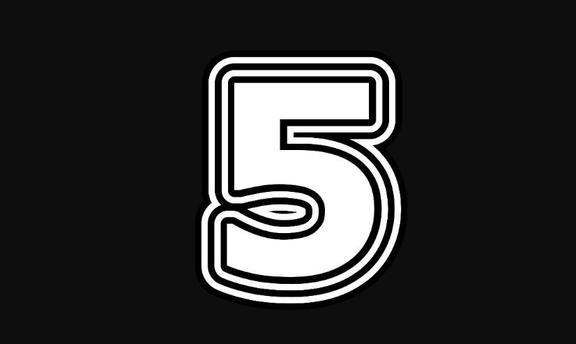 5 sayısının anlamı
