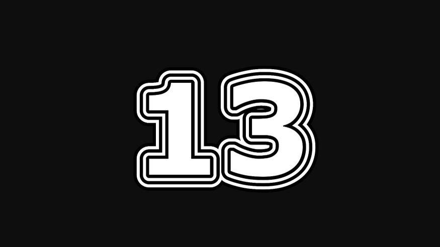 Numeroloji: 13 sayısının anlamı