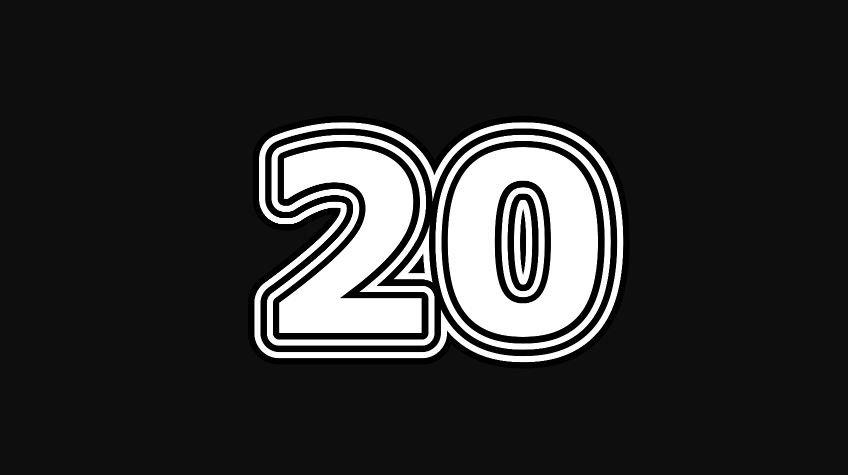 Numeroloji: 20 sayısının anlamı