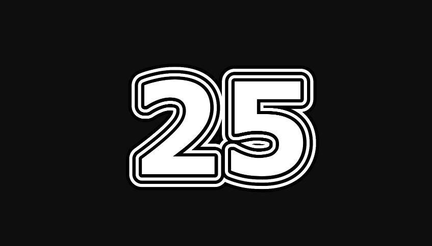 Numeroloji: 25 sayısının anlamı