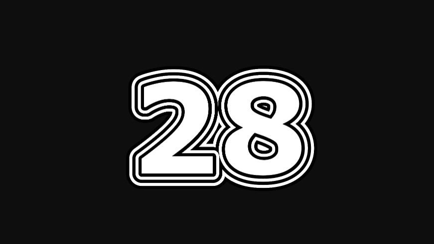 28 sayısının anlamı
