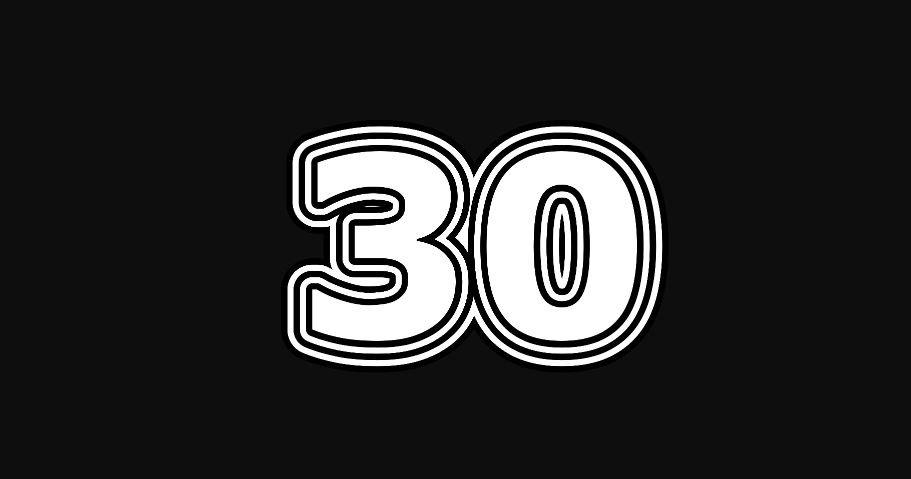 30 sayısının anlamı
