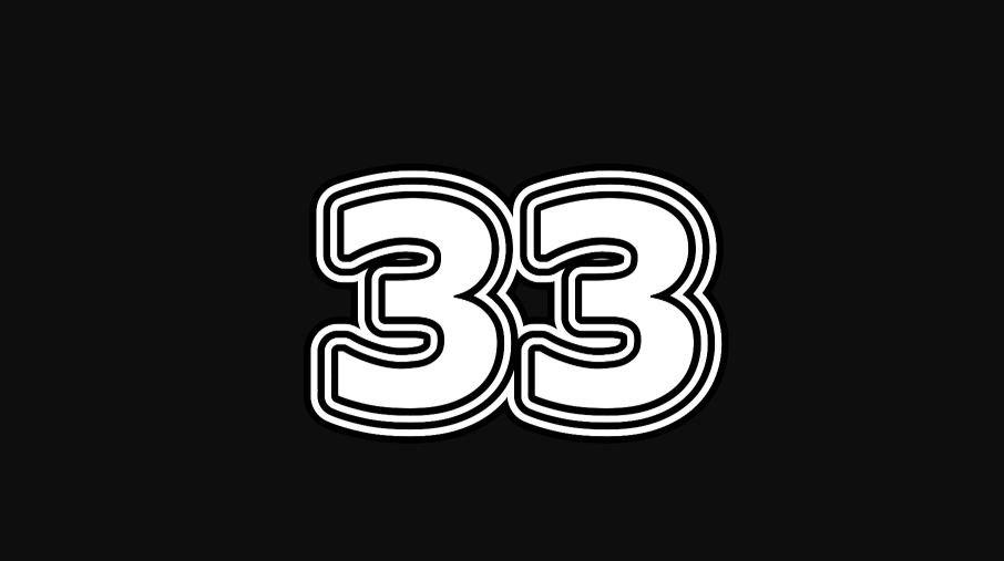 33 sayısının anlamı
