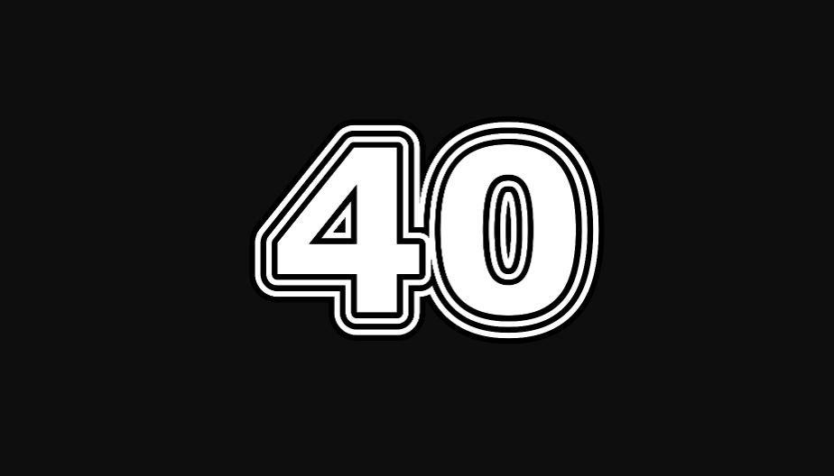 40 sayısının anlamı