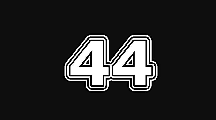 44 sayısının anlamı