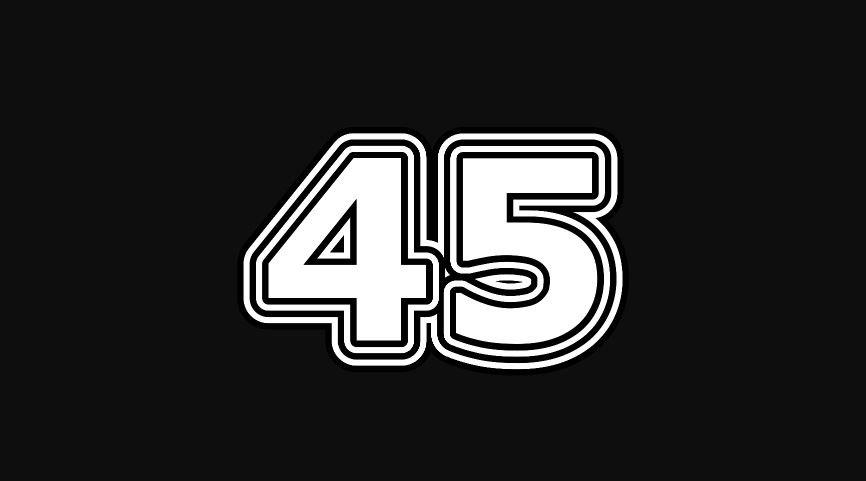 45 sayısının anlamı